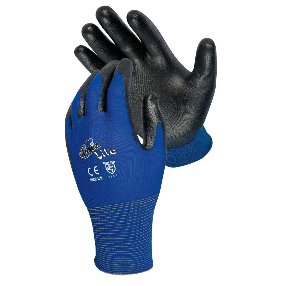 5 Paires de MaxiFlex Ultimate Taille:L gants de travail enduits nitrile