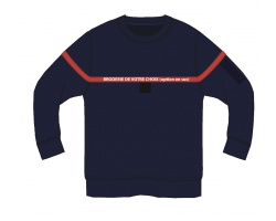 Sweat-shirt type sapeurs-pompiers