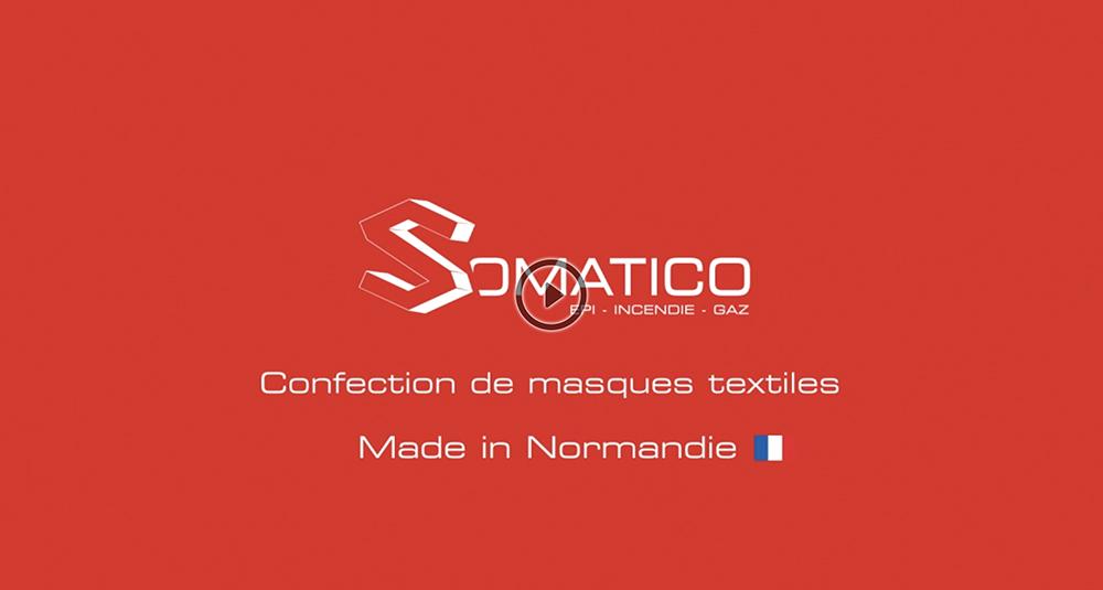 Confection de masques textiles - Made in Normandie